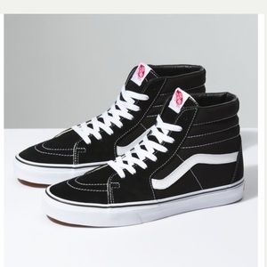 Vans sk8 hi excellent condition!